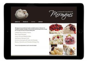 Cotswold Meringues Website