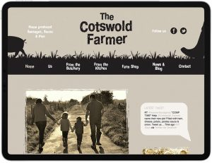 Cotswold Farmer Website