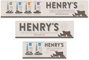 Henrys Feed Branding