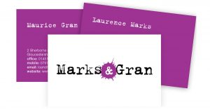 Marks and Gran Buisness Cards