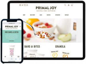 Primal Joy Responsive Website