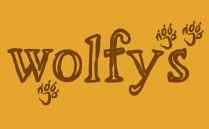 Wolfy's logo